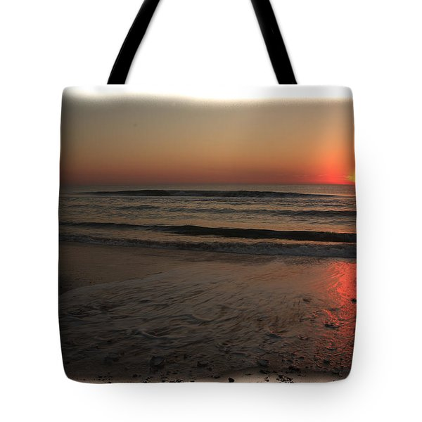 Sun Over The Ocean Tote Bag