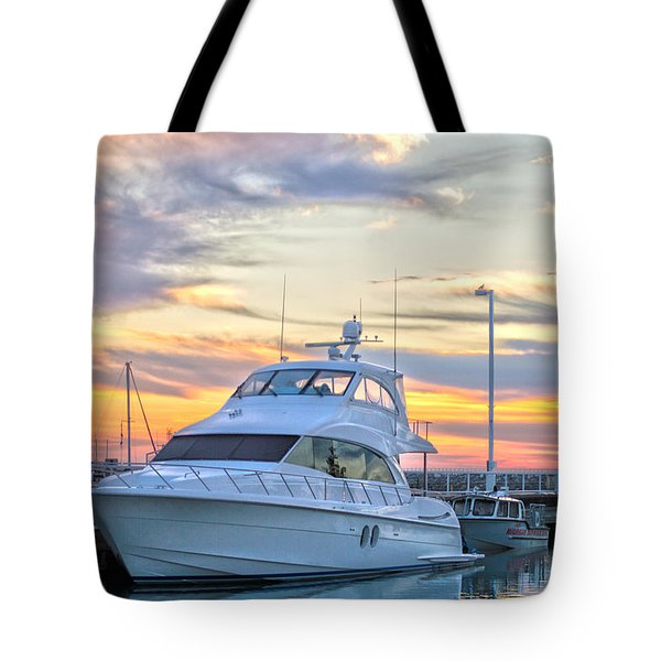Sun Peaking II Tote Bag