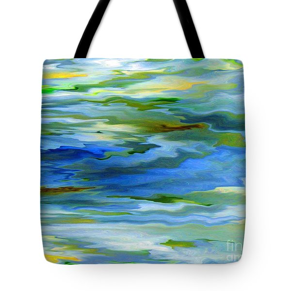 Sun Ray Reflection Tote Bag by Cedric Hampton