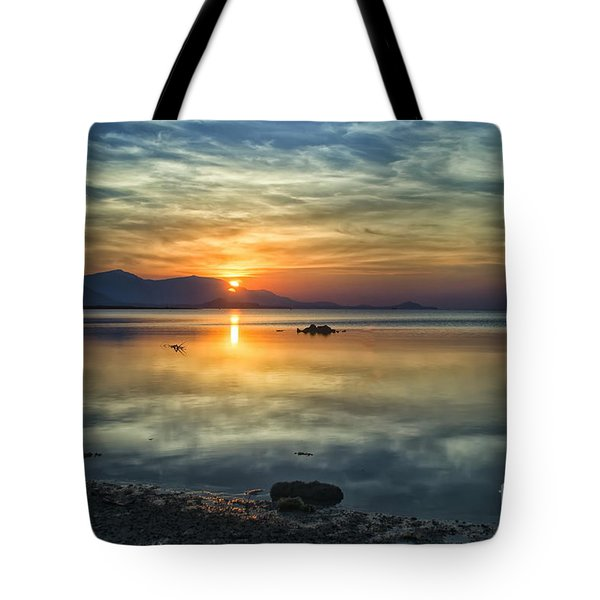 Sun Reflection Tote Bag