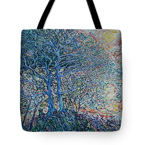 Lake Of Gold Tote Bag