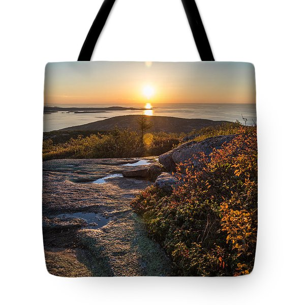 Sun Rise Shock Tote Bag