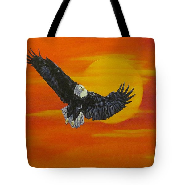 Sun Riser Tote Bag by Wendy Shoults