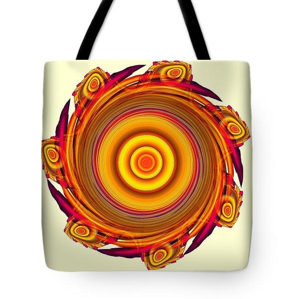 Sun Salutation Tote Bag by Anastasiya Malakhova