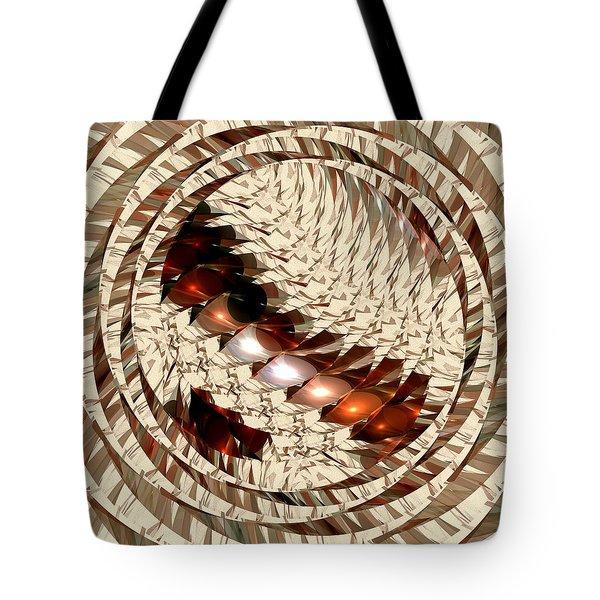 Sun Sand Shadows Tote Bag by Anastasiya Malakhova