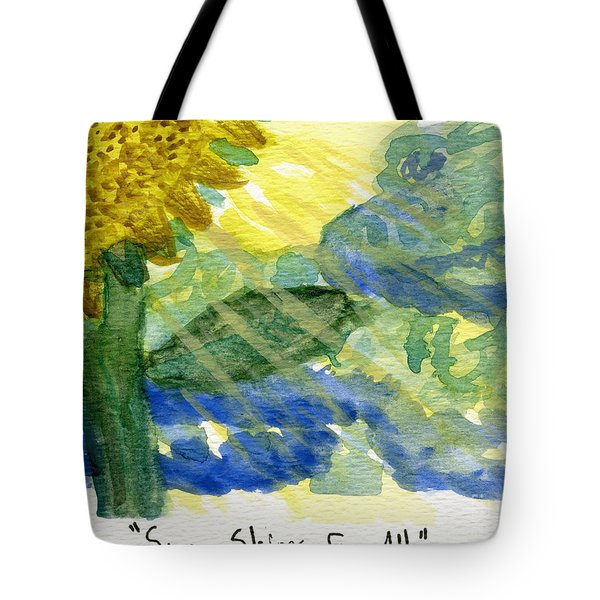 Sun Shines For All II Tote Bag