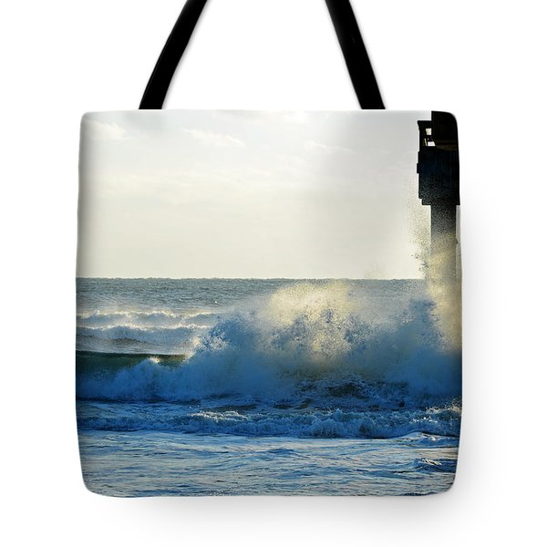 Sun Splash Tote Bag