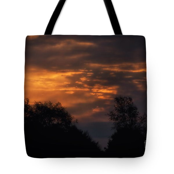 Sun Up Tote Bag by Thomas Woolworth