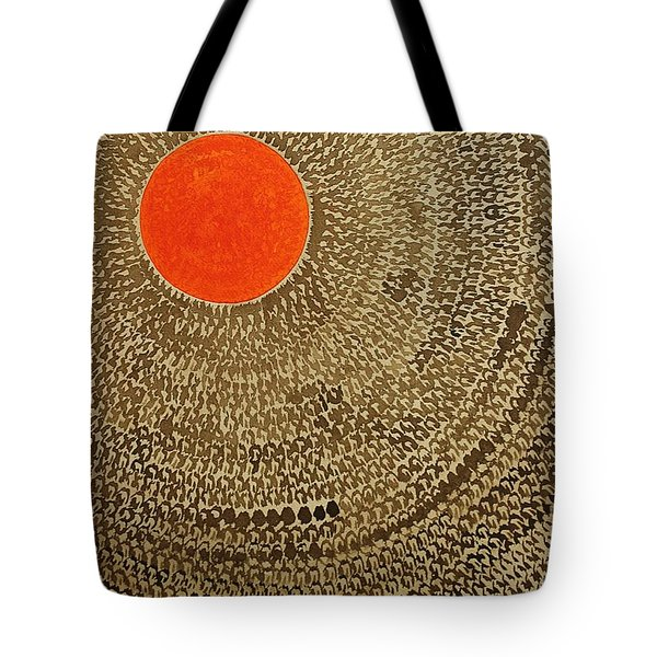 Sun Valley Original Painting Tote Bag