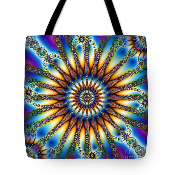 Sun Wheel 2 Tote Bag by Elizabeth McTaggart