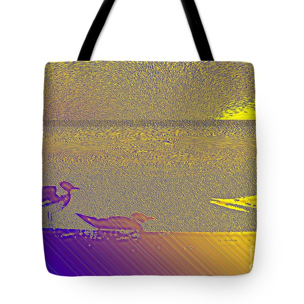 Tote Bag featuring the photograph Sunbird by Ecinja Art Works