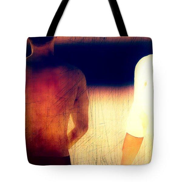 Sunburn Tote Bag by Bob Orsillo