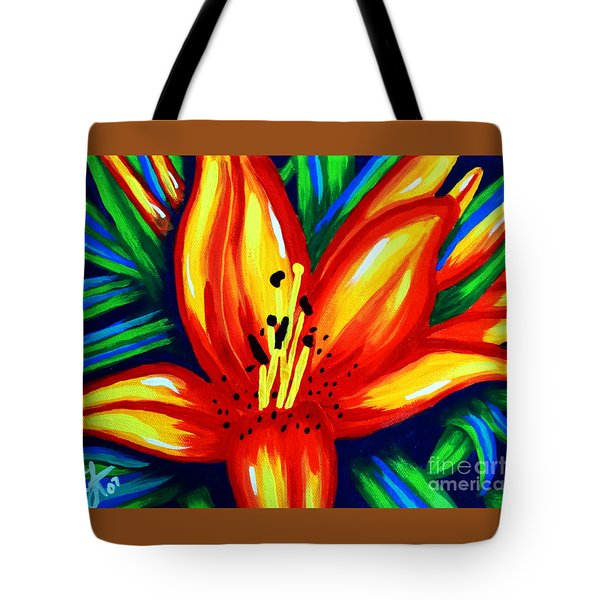 Sunburst Tote Bag by Jackie Carpenter