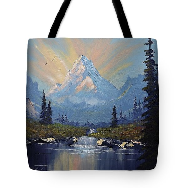 Sunburst Landscape Tote Bag