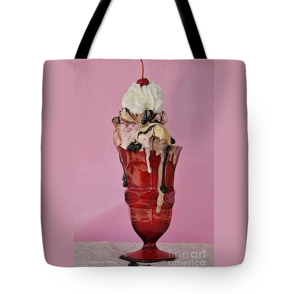 Sundae Anyone? Tote Bag