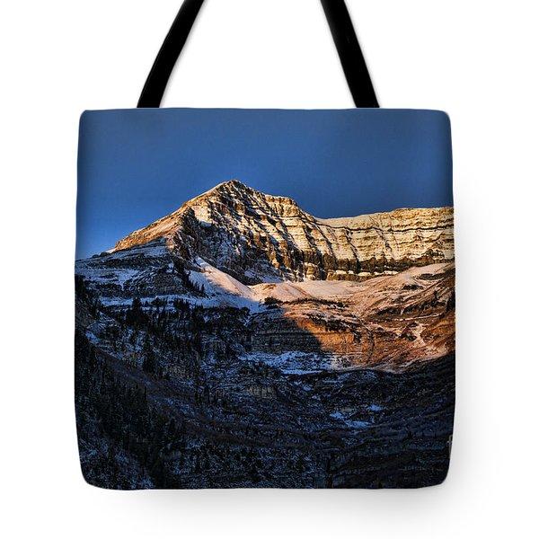 Sundance Aspen-first Light V5 Tote Bag by Douglas Barnard