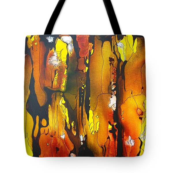 Tote Bag featuring the painting Sundance by Pat Purdy