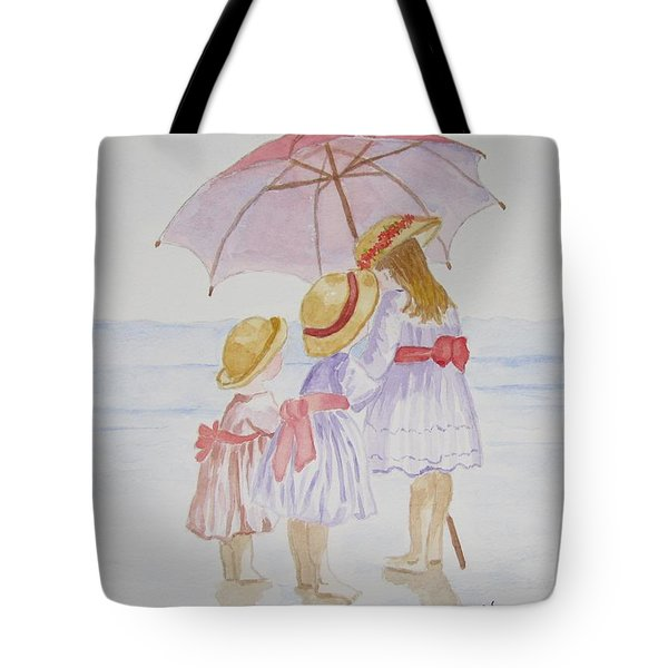 Sunday Best At The Beach Tote Bag