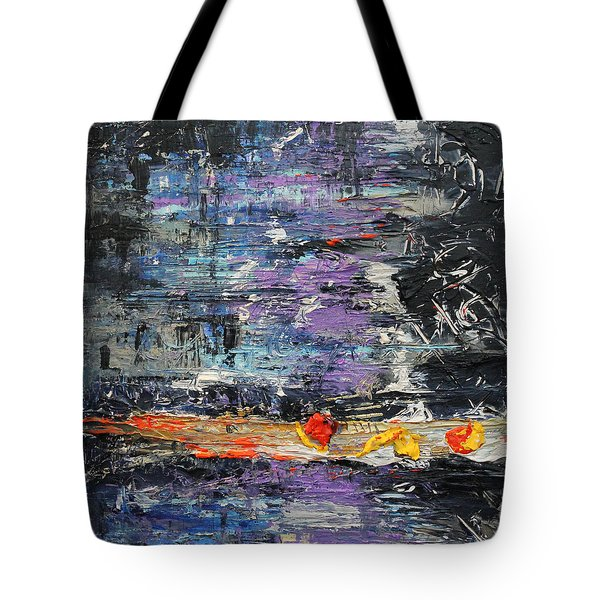 Sunday Blues Tote Bag