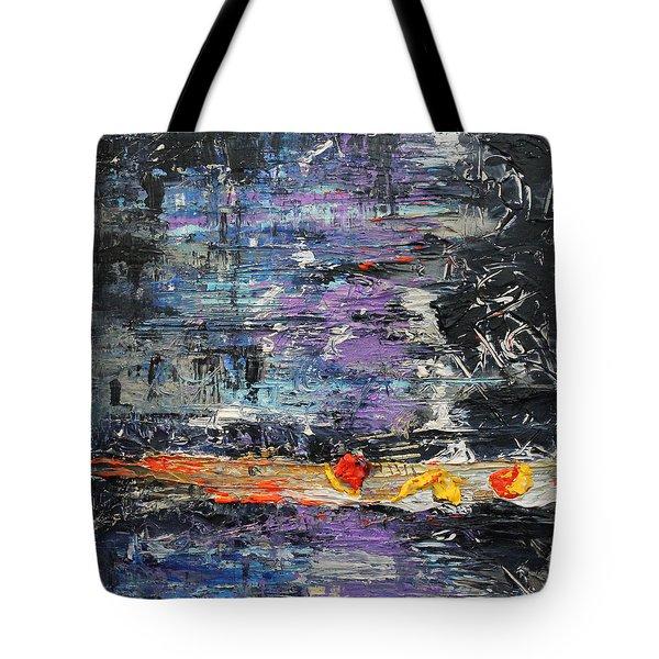 Sunday Blues Tote Bag by Lucy Matta - LuLu
