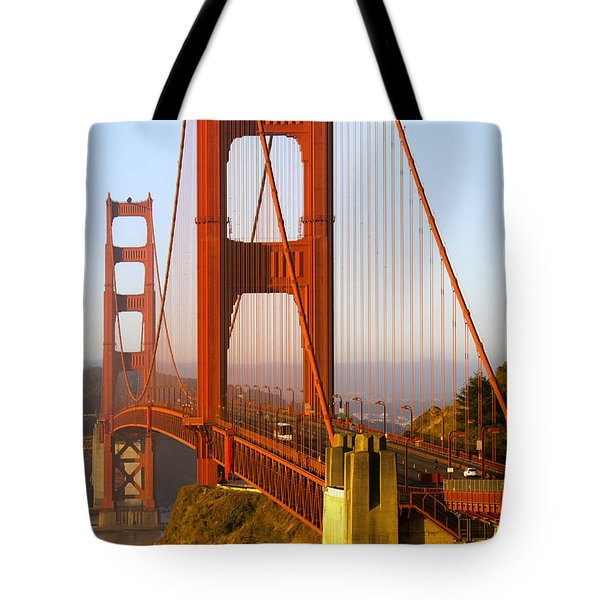 Sunday Morning Traffic Tote Bag