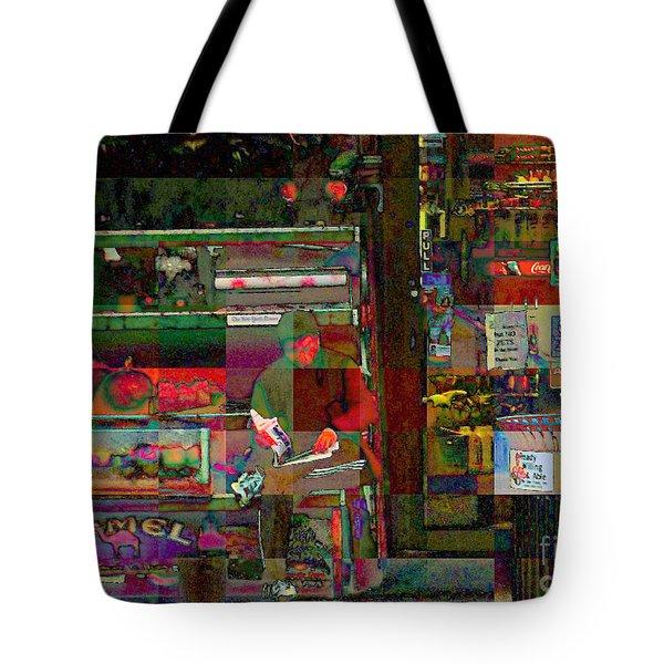 Sunday Paper Tote Bag by Miriam Danar