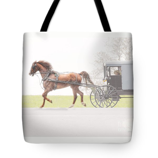 Tote Bag featuring the photograph Sunday Ride by Dyle   Warren