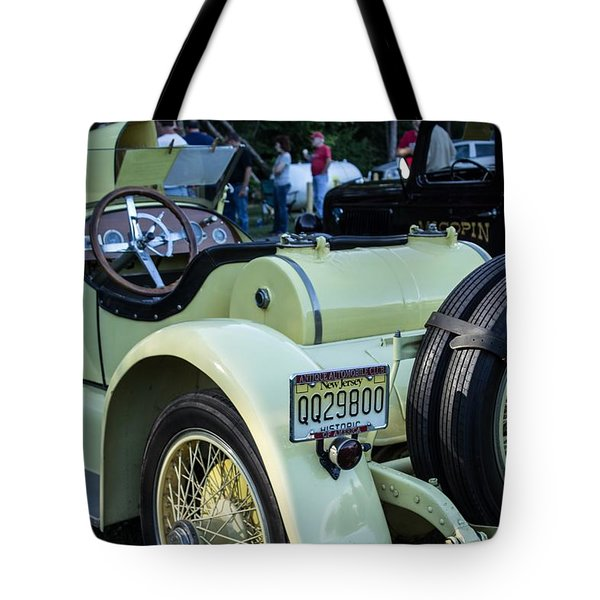 Sunday Rides Tote Bag