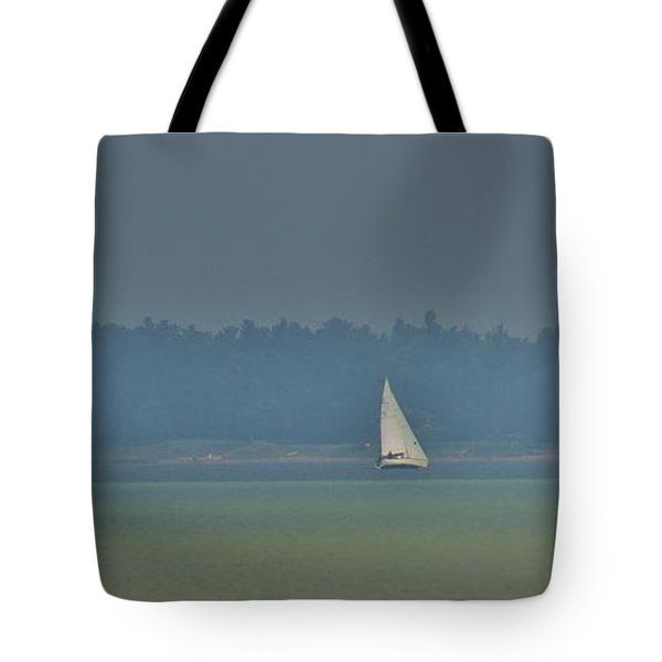 Sunday Sailing  Tote Bag by Daniel Thompson
