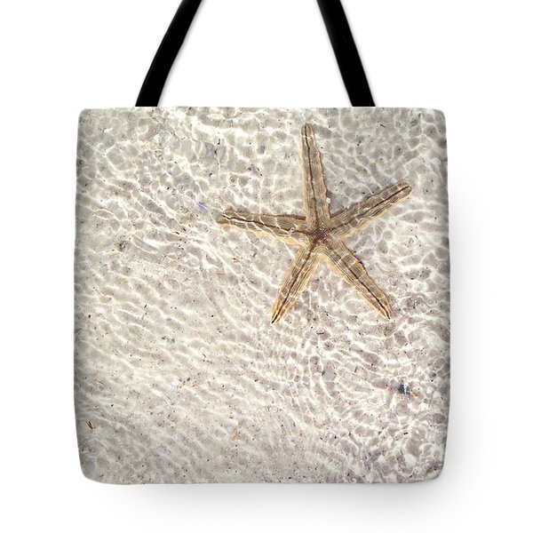 Tote Bag featuring the photograph Anna Maria Island Starfish by Jean Marie Maggi