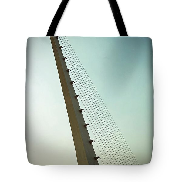 Sundial At Sunrise Tote Bag by Holly Blunkall