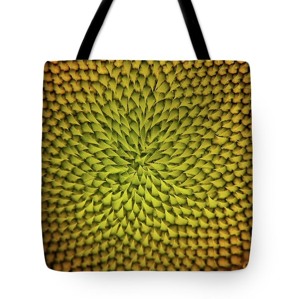 Sunflower Sundial Tote Bag