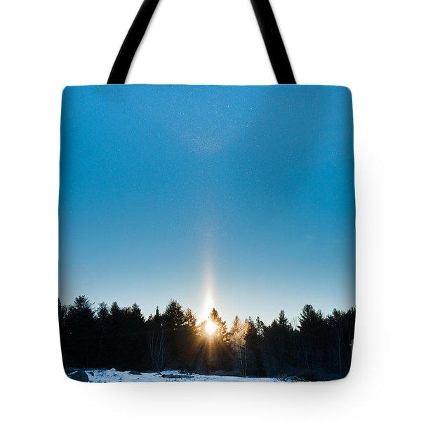 Sundog Spectacular Tote Bag by Cheryl Baxter