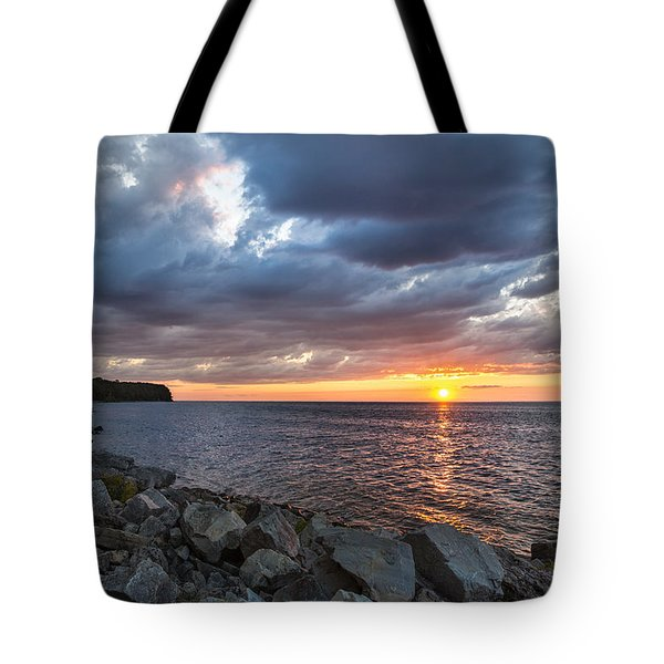Sundown Bay Tote Bag