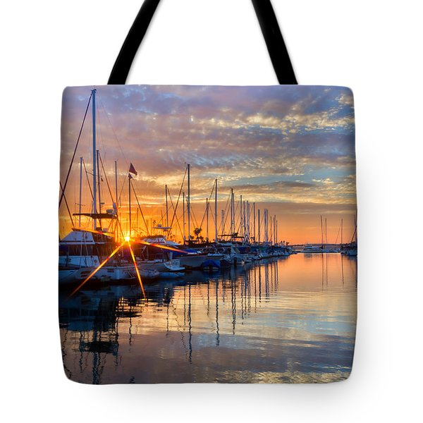 Sundown Tote Bag by Heidi Smith