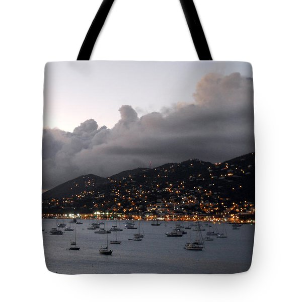 Sundown On St. Thomas Tote Bag