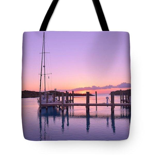 Sundown Serenity Tote Bag by Jola Martysz