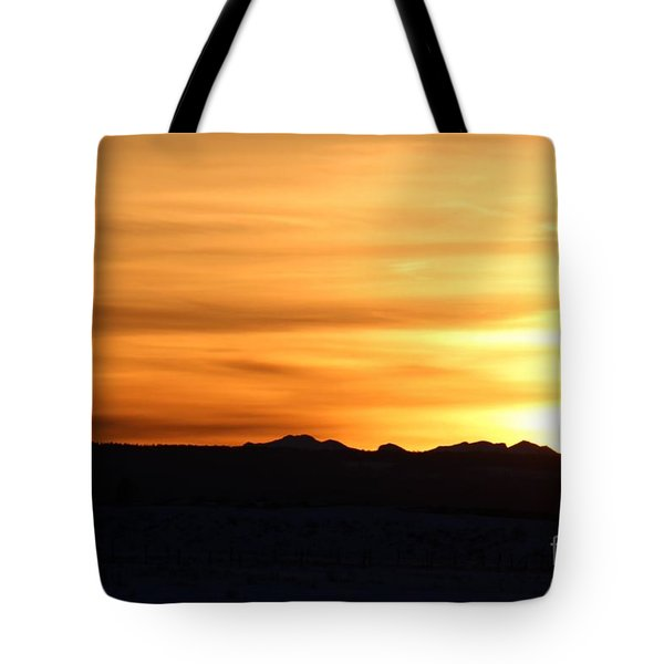 Sundre Sunset Tote Bag