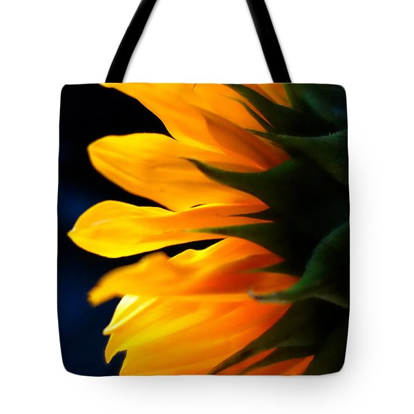 Tote Bag featuring the photograph Sunflower 2 by Jacqueline Athmann