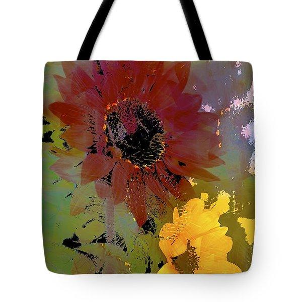 Sunflower 33 Tote Bag by Pamela Cooper