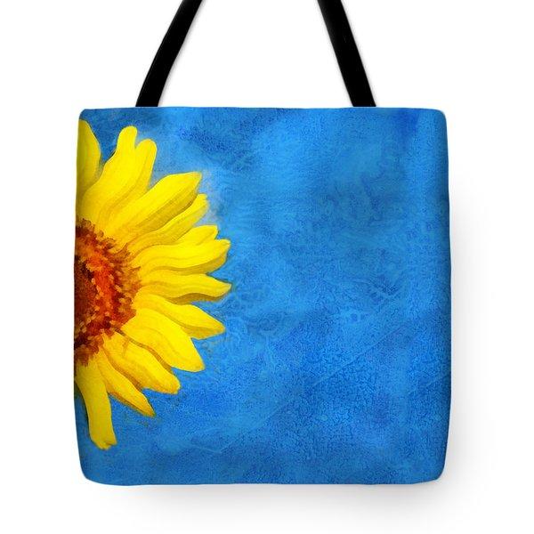 Sunflower Art Tote Bag by Ann Powell