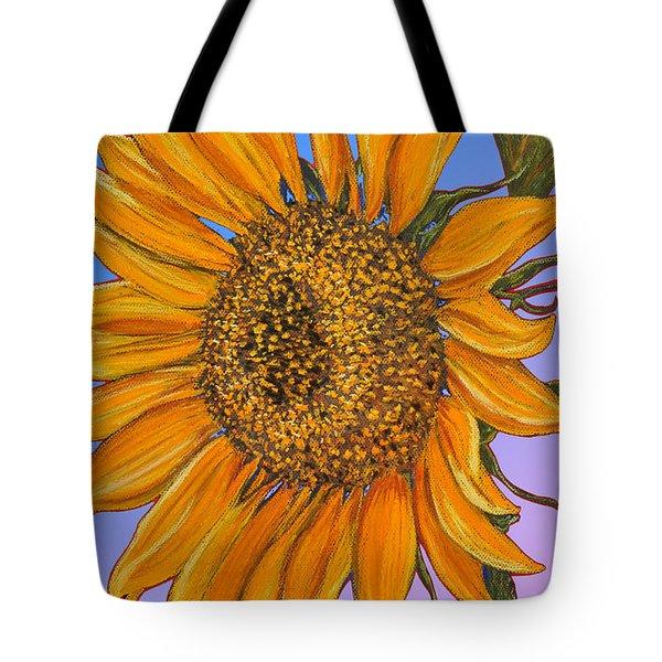 Da154 Sunflower By Daniel Adams Tote Bag