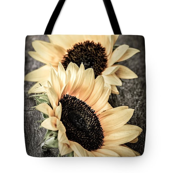 Sunflower Blossoms Tote Bag by Elena Elisseeva