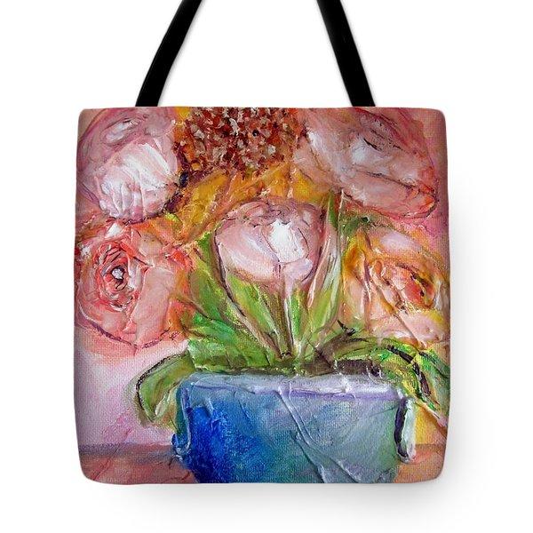 Sunflower Bouquet Tote Bag