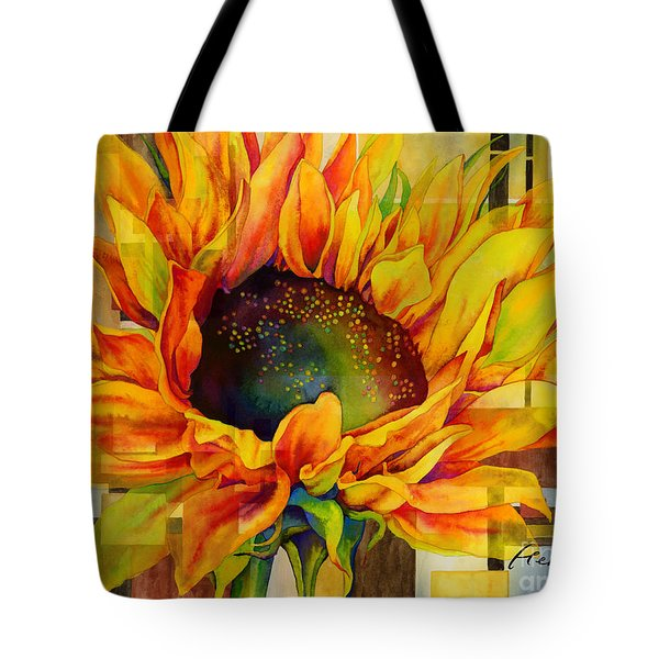 Sunflower Canopy Tote Bag