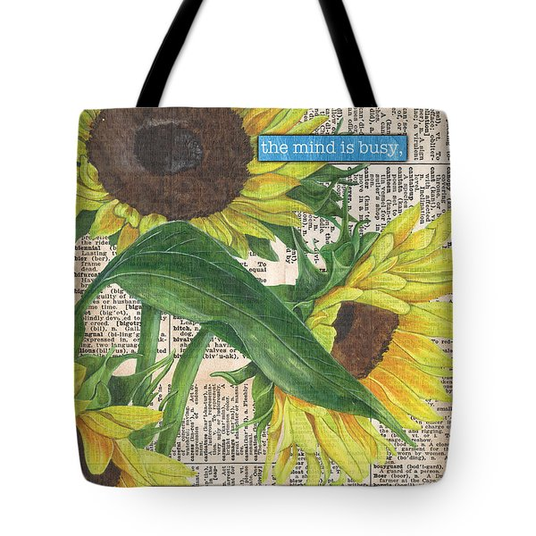 Sunflower Dictionary 1 Tote Bag