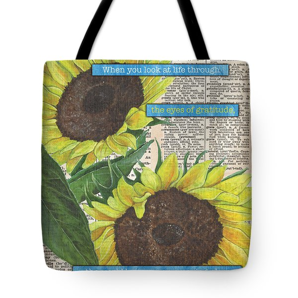 Sunflower Dictionary 2 Tote Bag