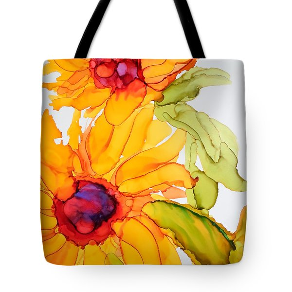 Sunflower Duo Tote Bag