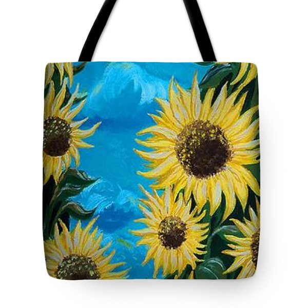 Sunflower Fun Tote Bag