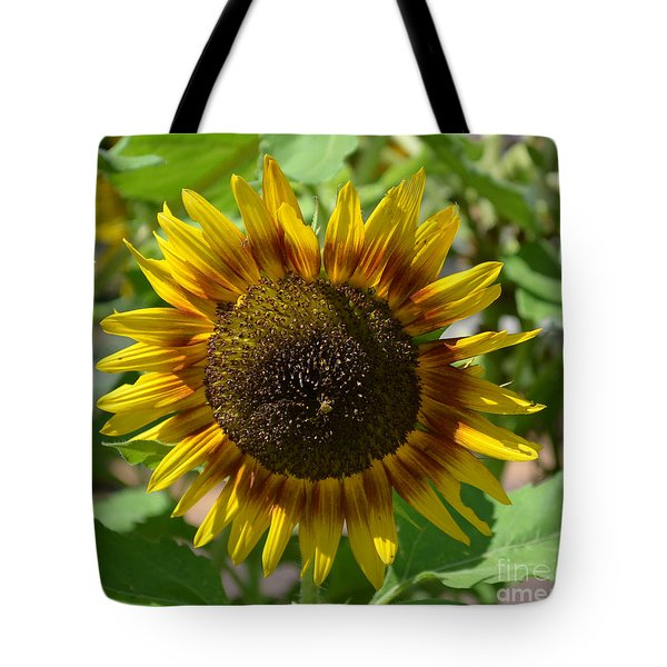 Sunflower Glory Tote Bag by Luther Fine Art